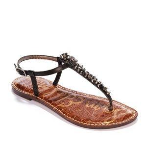 Sam Edelman Gwyneth Thong Leather Sandals